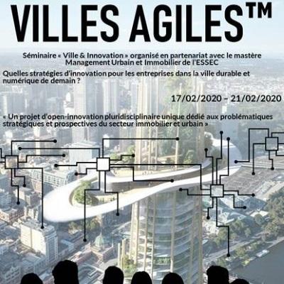 Villes Agiles – Séminaire Ville & Innovation