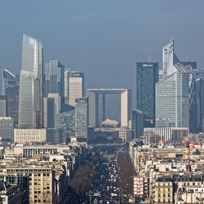 Groupama lance avec VINCI la construction de THE LINK, futur siège de Total à Paris La Défense