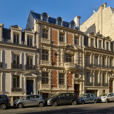 Restructuration d'un hôtel particulier de bureaux à Paris 17ème